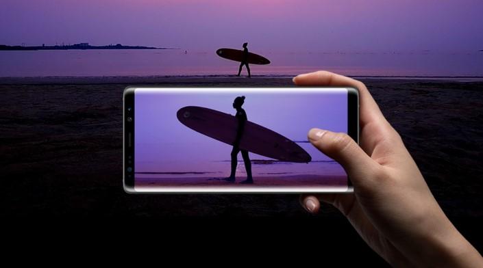 8 formas de como captar las mejores fotos con tu Galaxy Note8 - galaxy-note8-samsung