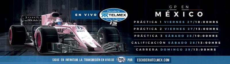 Gran Premio de México 2017 por Escudería Telmex ¡gratis! - gran-premio-de-mexico-2017-escuderia-telmex-800x222