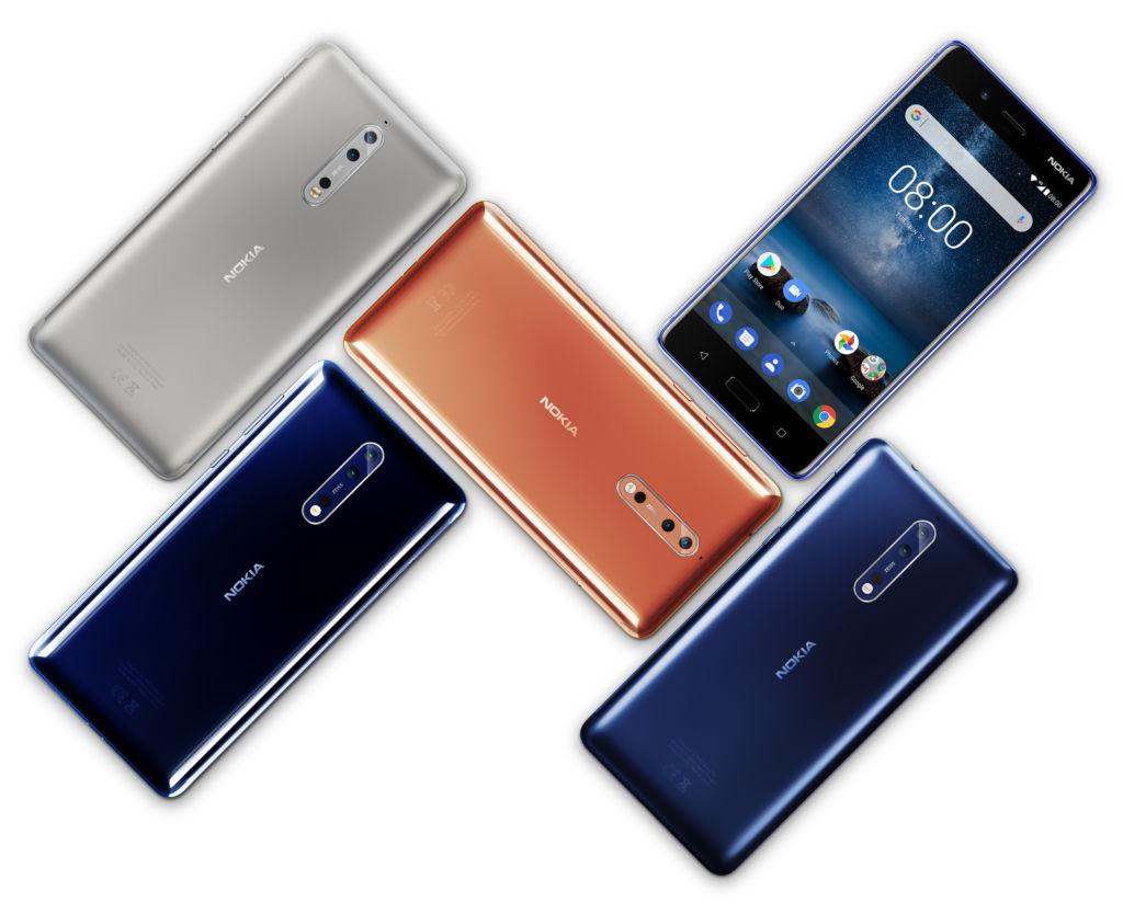 hmd nokia 8 android HMD Global confirma que todos los smartphones Nokia actualizarán a Android P