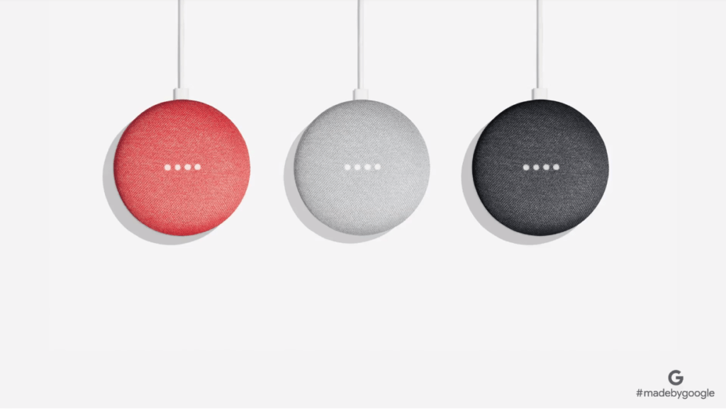 Google demuestra que también puede ser una empresa de hardware con sus nuevos dispositivos - home-mini