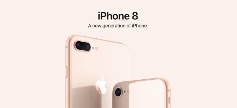 iphone 8 800x366 Obtén tu iPhone 8 en 24 horas en Linio México