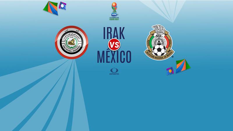irak vs mexico sub 17 en vivo india 2017 800x449 México vs Irak, Mundial Sub 17 2017 | Resultado: 1 1