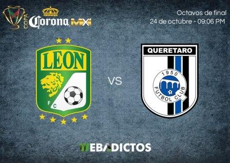 León vs Querétaro, Octavos de Copa MX A2017 ¡En vivo por internet!