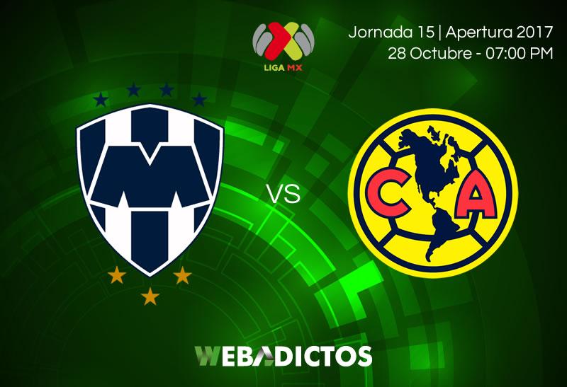 Monterrey vs América, J15 Liga MX Apertura 2017 ¡En vivo por internet! - monterrey-vs-america-jornada-15-apertura-2017-800x547