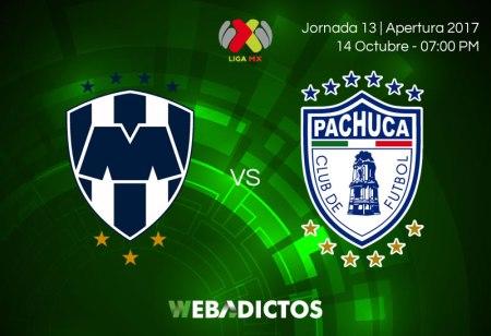 Monterrey vs Pachuca, J13 del Apertura 2017 | Resultado: 2-0
