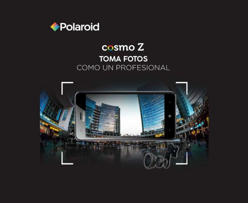 Polaroid Cosmo Z ¡llega a México! con kit de tres lentes de fotografía - polaroid-cosmo-z-smartphone-800x656
