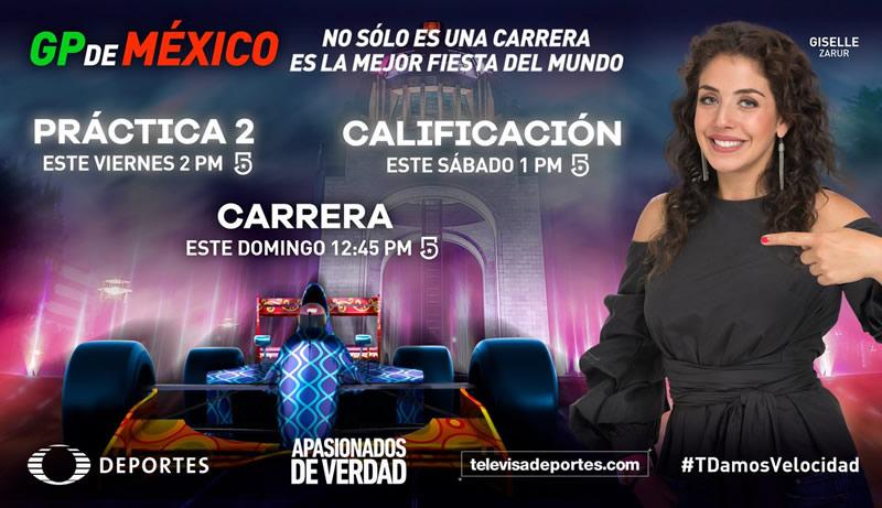 Prácticas del Gran Premio de México 2017 en vivo en tus dispositivos - practicas-gran-premio-de-mexico-2017-televisa-800x461