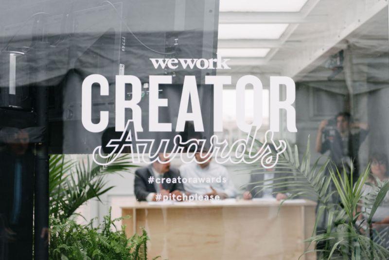 premios creator awards de wework 800x534 Premios Creator Awards de WeWork seguirán buscando ideas hasta enero de 2018