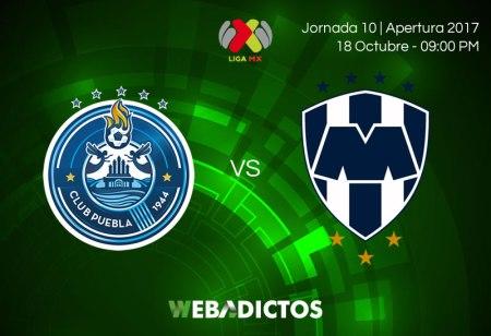 Puebla vs Monterrey, Jornada 10 Apertura 2017 ¡En vivo por internet!