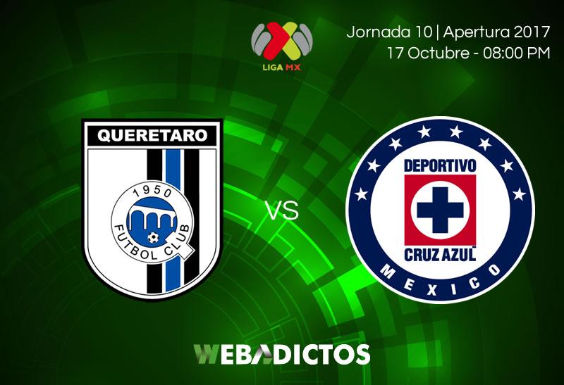 Querétaro vs Cruz Azul, J10 Liga MX A2017   Resultado: 1-2 - queretaro-vs-cruz-azul-j10-apertura-2017-800x547