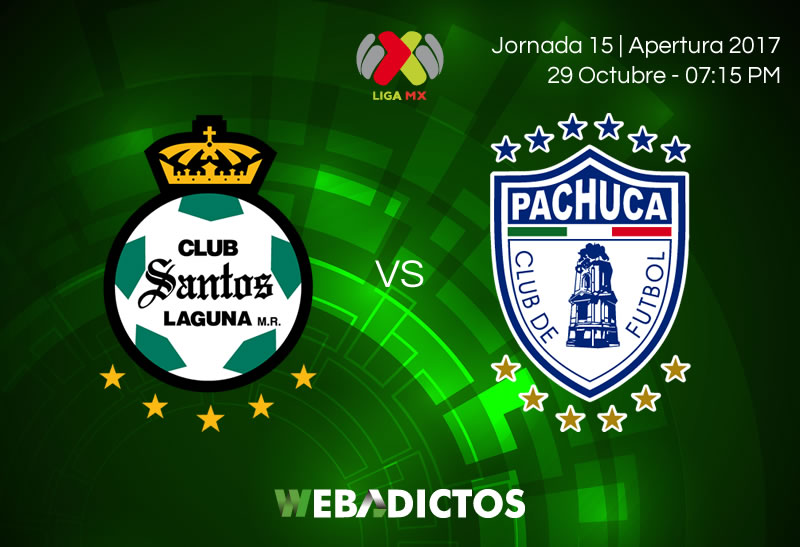 Santos vs Pachuca, Jornada 15 del Apertura 2017   Resultado: 2-2 - santos-vs-pachuca-jornada-15-apertura-2017-800x547