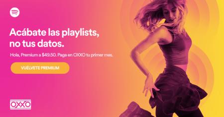 Spotify Premium ofrece 50% de descuento pagando en Oxxo
