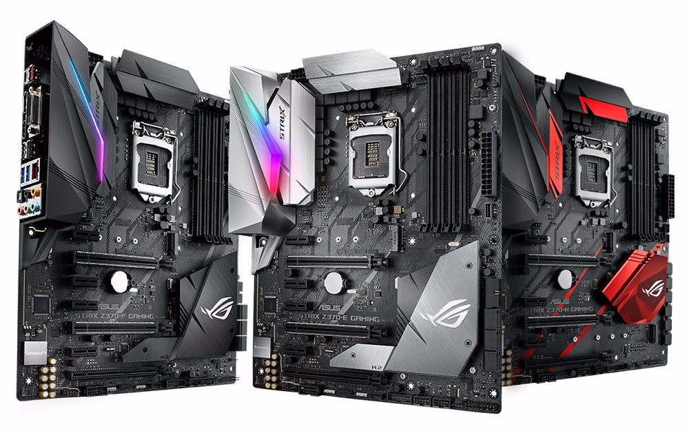 ASUS Republic of Gamers lanza tarjetas madre Maximus X y Strix Z370 Series - strix-z370-series