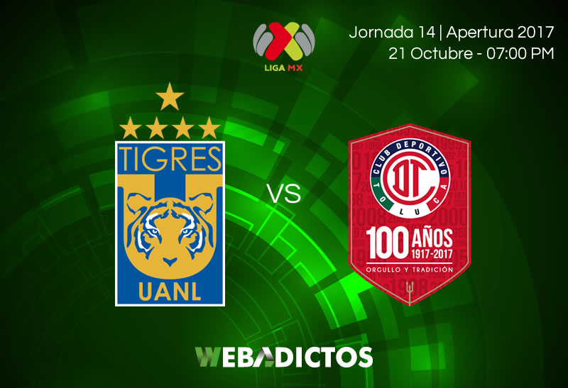 Tigres vs Toluca, Jornada 14 Apertura 2017 | Resultado: 3-0 - tigres-vs-toluca-jornada-14-apertura-2017-800x547
