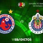 Veracruz vs Chivas en Jornada 14 Apertura 2017 ¡En vivo por internet!