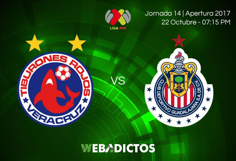 Veracruz vs Chivas en Jornada 14 Apertura 2017 | Resultado: 2-3 - veracruz-vs-chivas-jornada-14-apertura-2017-800x547