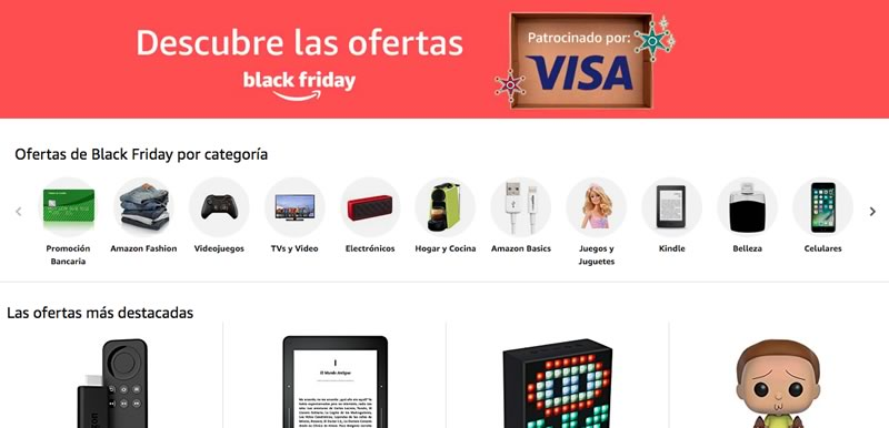 Arranca el Black Friday 2017 en Amazon México con miles de ofertas y promociones - amazon-mexico-black-friday-2017-800x386