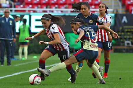 América vs Chivas; Semifinal Liga MX Femenil ¡En vivo por internet!