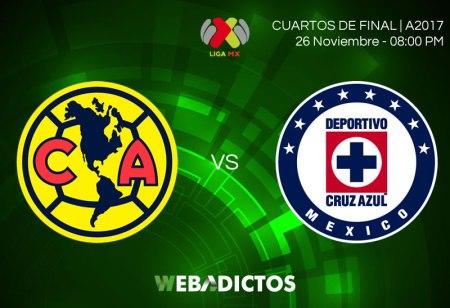 América vs Cruz Azul, en la liguilla A2017 | Resultado: 0-0
