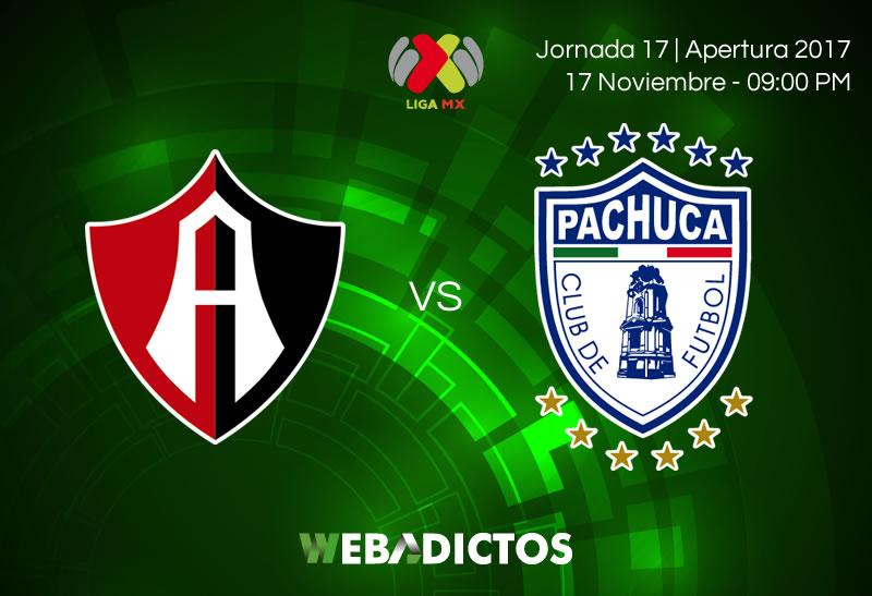 Atlas vs Pachuca, J17 Liga MX A2017 | Resultado: 1-1 - atlas-vs-pachuca-jornada-17-apertura-2017-800x547