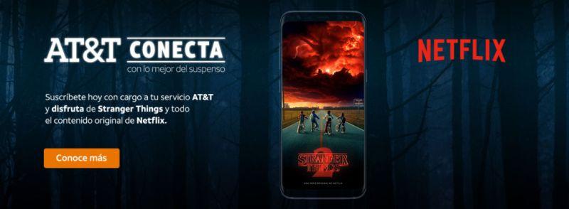 Ahora podrás suscribirte a Netflix, pagando por medio de AT&T Conecta - att-conecta-netflix-2-800x294