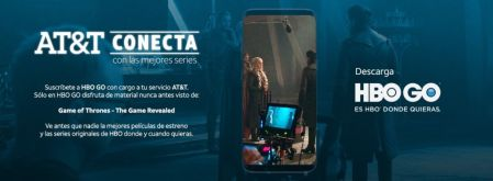 Con AT&T conecta ahora podrás suscribirte a HBO GO ¡Disfruta de un mes gratis!