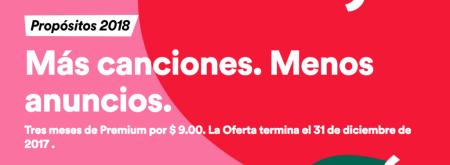 ¡Black Friday Spotify! tres meses de Premium a tan solo $9 pesos