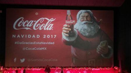 Coca Cola invita a dar gracias esta Navidad, a través de Facebook