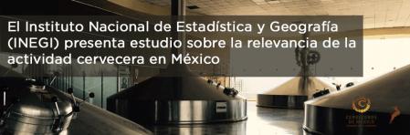 INEGI presenta estudio sobre la relevancia de la actividad cervecera en México