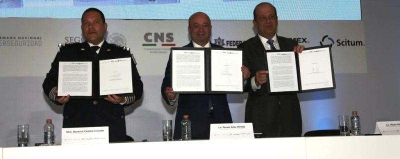 TELMEX-Scitum firma convenio en materia de ciberseguridad con la Policía Federal - firma-convenio-pf-800x318
