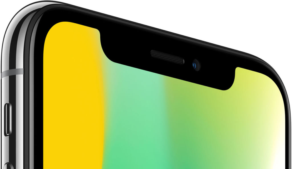 Usuarios del iPhone X reportan que el auricular produce sonidos raros - iphone-x-notch-area