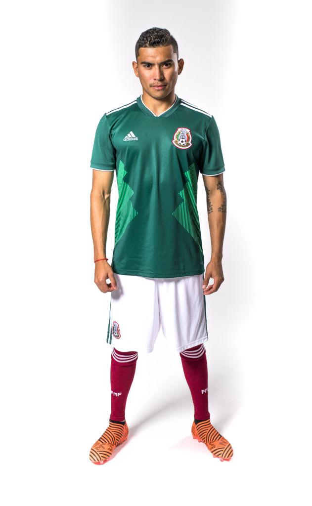 Nueva playera de la Selección Mexicana para Rusia 2018 es presentado por  adidas - jersey- 7055c6c2c0488