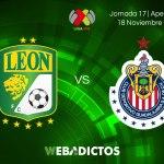 León vs Chivas, J17 del Apertura 2017 ¡En vivo por internet!
