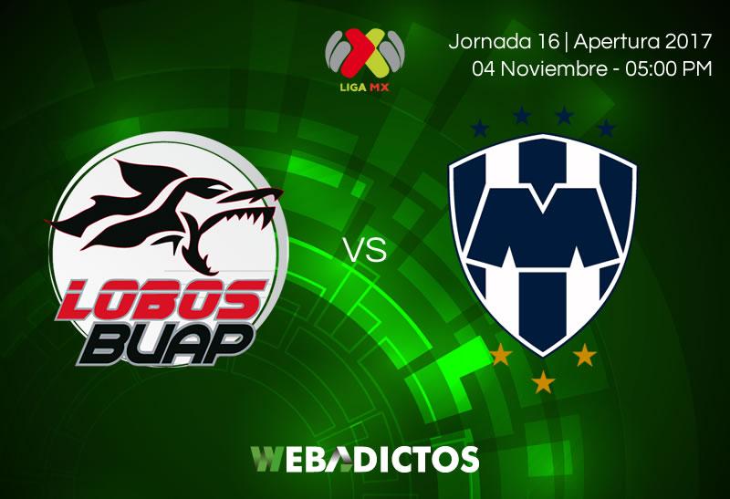 Lobos BUAP vs Monterrey, Jornada 16 A2017 | Resultado: 2-1 - lobos-buap-vs-monterrey-jornada-16-apertura-2017-800x547