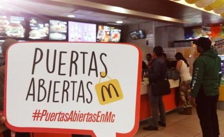 McDonald's celebra el Día Nacional de Puertas Abiertas