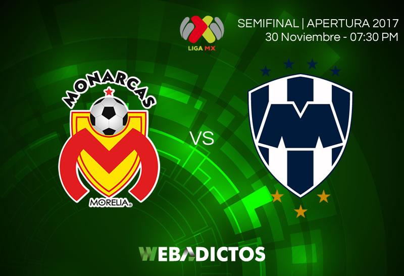 morelia vs monterrey semifinal apertura 2017 800x547 Morelia vs Monterrey, Semifinal A2017 | Resultado: 0 1 | Ida