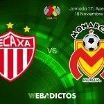 Necaxa vs Morelia, Liga MX J17 AP2017 ¡En vivo por internet!