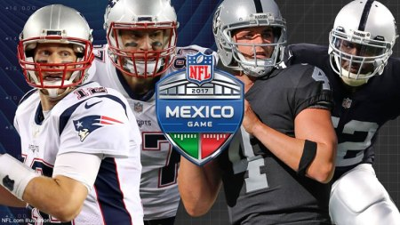 Patriotas vs Raiders, NFL México 2017 ¡En vivo por internet!