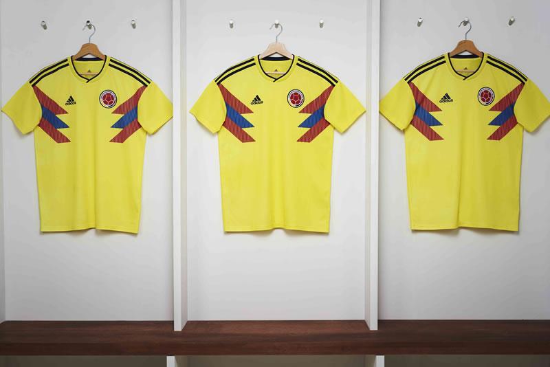 playeras rusia 2018 adidas 4x3 colombia shirt 800x534 adidas Football revela los uniformes de las selecciones para Rusia 2018