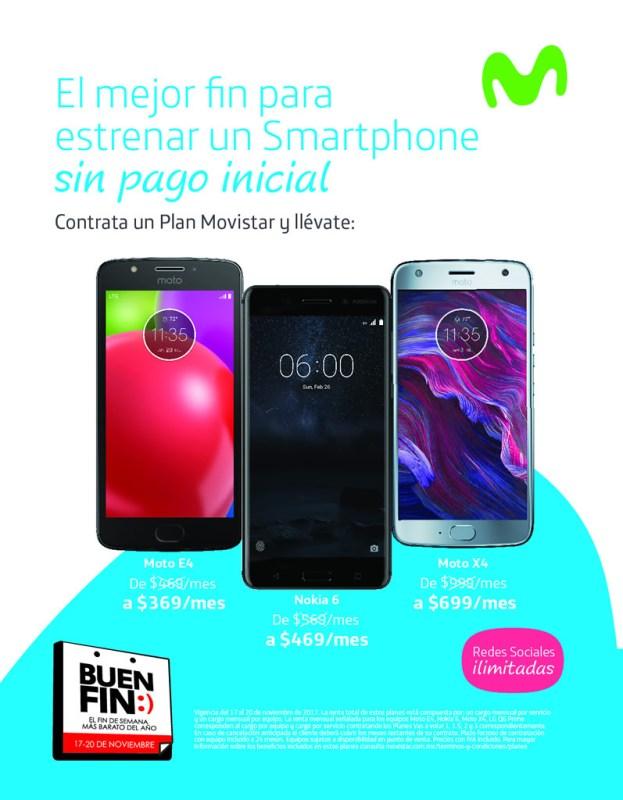 promociones movistar buen fin 2017 623x800 Promociones y ofertas del Buen Fin 2017 en Movistar ¡Conócelas!