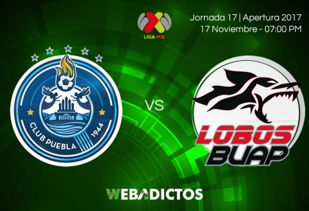 Puebla vs Lobos BUAP, Jornada 17 Apertura 2017 | Resultado: 0-1