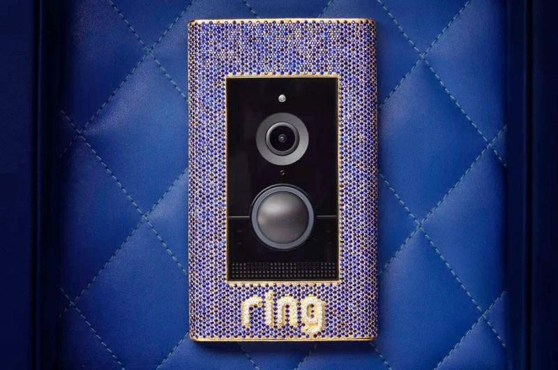 El timbre más caro del mundo tiene una buena causa - ring-crown-jewel-edition-video-doorbell-1-800x530