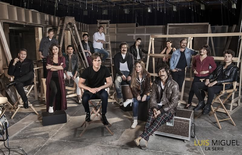 Netflix comparte primera foto de la serie de Luis Miguel