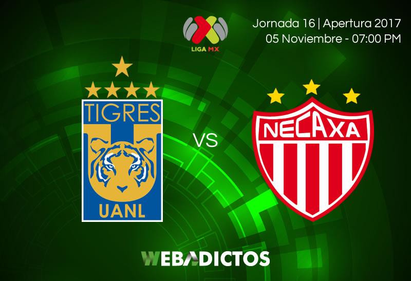Tigres vs Necaxa, J16 de Liga MX A2017 | Resultado: 1-0 - tigres-vs-necaxa-jornada-16-apertura-2017-800x547