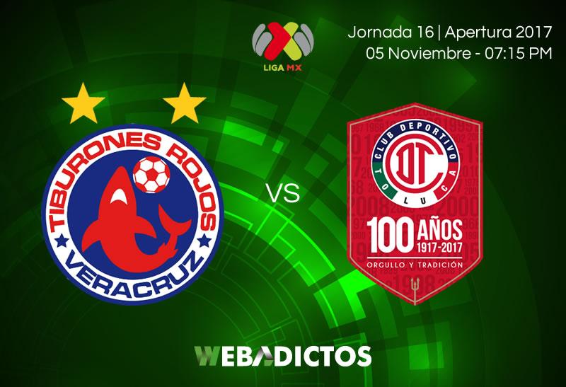 Veracruz vs Toluca, Jornada 16 del Apertura 2017 | Resultado: 0-1 - veracruz-vs-toluca-jornada-16-apertura-2017-800x547