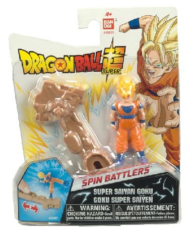 """El juguete más deseado"" para la temporada navideña y de reyes - dragon-ball-spin-battlers-single-pack"