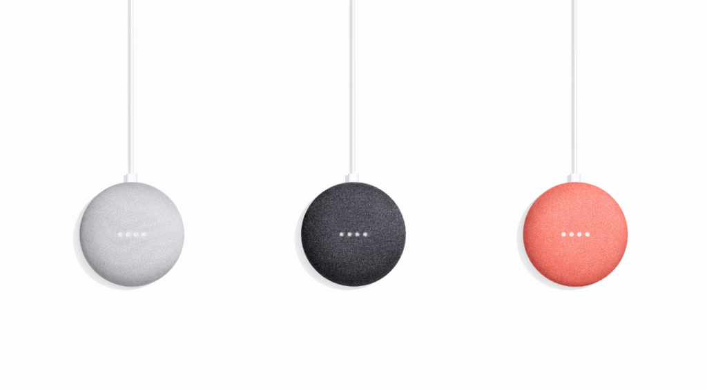 google home mini colors El Google Home Mini se reinicia al reproducir música a volumen máximo