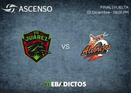 Juárez vs Alebrijes, Final de Ascenso MX A2017 ¡En vivo por internet!