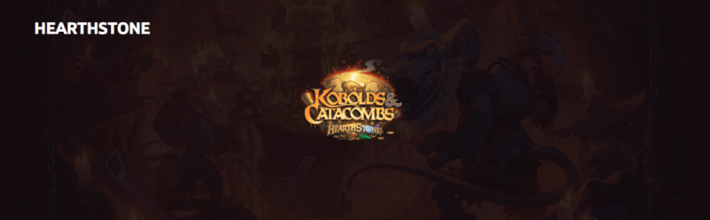 Kóbolds & Catacumbas ¡Ya disponible para todos los cazadores de Hearthstone! - kobolds-catacumbas-800x248