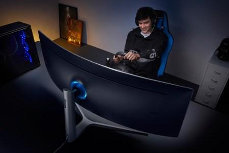Nuevo monitor curvo HDR QLED mejora la experiencia de jugar videojuegos
